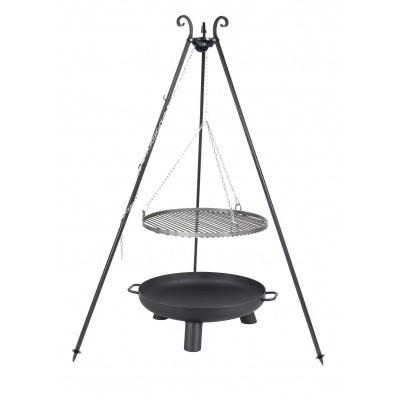 Hoofdafbeelding van Farmcook Swing Grill Viking ø 60 cm + Vuurschaal Pan37 70 cm