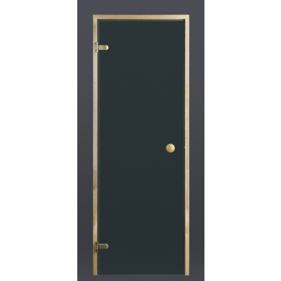 Hoofdafbeelding van Ilogreen Saunadeur Trend (Elzen) 209x69 cm, groenglas