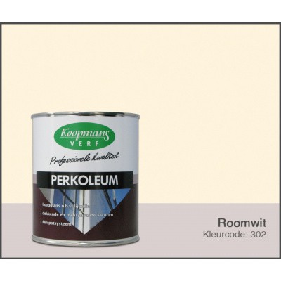 Foto van Koopmans Perkoleum, Roomwit 302, 0,75L Hoogglans