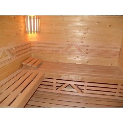 Hauptbild von Azalp Sauna Zwischenbankverkleidung, Erle