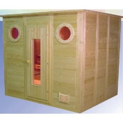 Hoofdafbeelding van Azalp Massieve sauna Maritiem