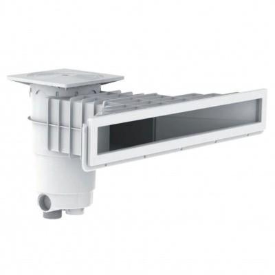 Hoofdafbeelding van Weltico A800 wit hoogwaterlijn skimmer beton en liner/folie baden