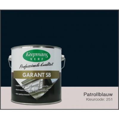 Hoofdafbeelding van Koopmans Garant SB, Petrolblauw 251, 2,5L