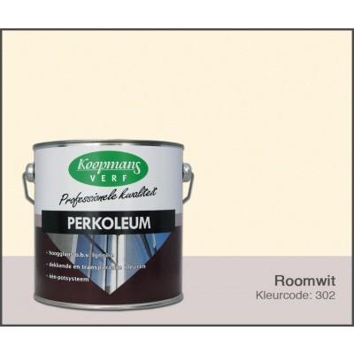 Foto van Koopmans Perkoleum, Roomwit 302, 2,5L Zijdeglans