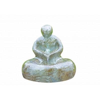 Foto van Azalp Marble Effect Sitting Man