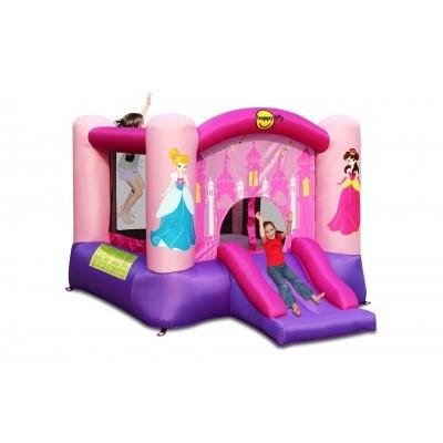 Foto van Happy Hop Princess Slide en Hoop Bouncer