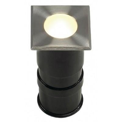 Foto van SLV POWER TRAIL-LITE SQUARE edelstaal 316 1W LED ww, 228342