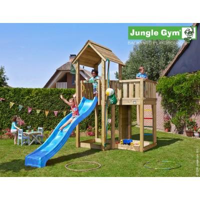 Foto van Jungle Gym Mansion met Glijbaan