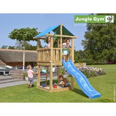 Foto van Jungle Gym Hut met Glijbaan