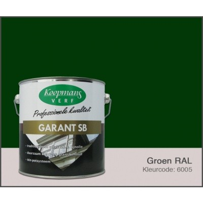 Hoofdafbeelding van Koopmans Garant SB, Groen RAL 6005, 2,5L