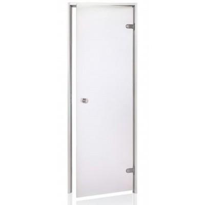 Hoofdafbeelding van Hot Orange Stoombad deur Au 90x200 cm, mat blank