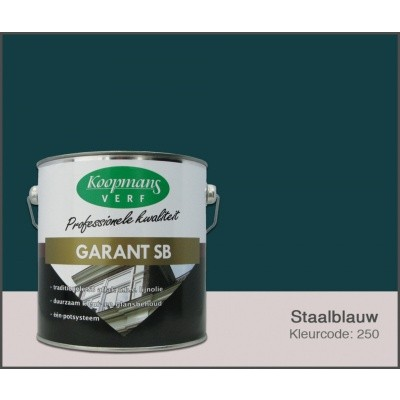 Hauptbild von Koopmans Garant SB, Stahlblau 250, 2,5L