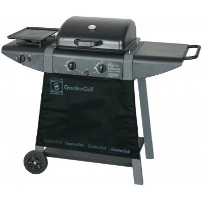 Foto van Garden grill Gas BBQ Bistro Twin Plus