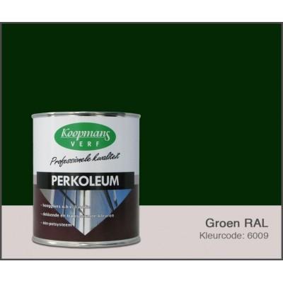 Foto van Koopmans Perkoleum, Groen RAL 6009, 0,75L Hoogglans