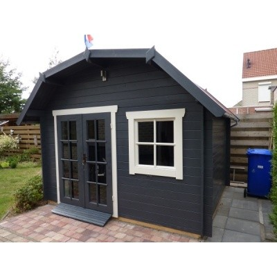 Hauptbild von Azalp Blockhaus Cornwall 450x400 cm, 45 mm