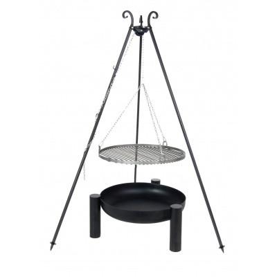 Hoofdafbeelding van Farmcook Swing Grill Viking ø 60 cm + Vuurschaal Pan38 70 cm