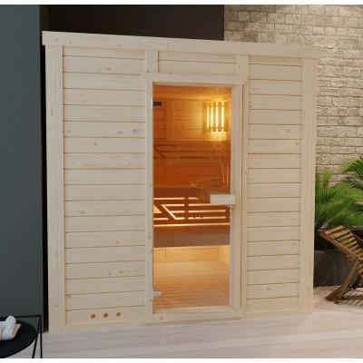 Hoofdafbeelding van Azalp Massieve sauna Genio 230x230 cm, 45 mm