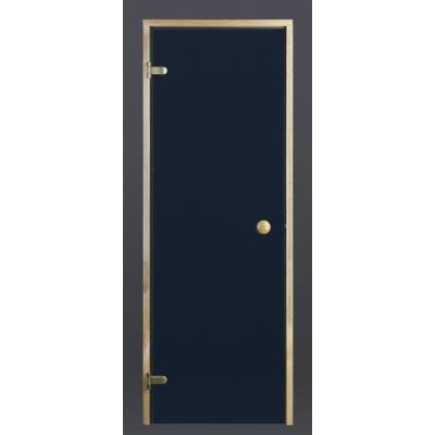 Hoofdafbeelding van Ilogreen Saunadeur Trend (Elzen) 199x89 cm, blauwglas