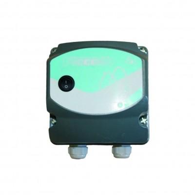 Foto van CCEI veiligheidstransformator in kunststof behuizing 100 watt - IP67
