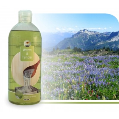 Foto van Warm and Tender Concentraat Alpen 500 ml