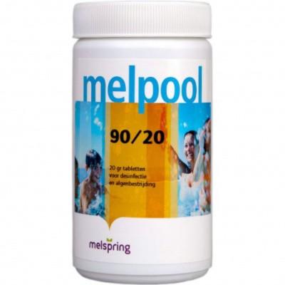 Hoofdafbeelding van Melpool 90/20 kleine Chloortabletten - 1 kg