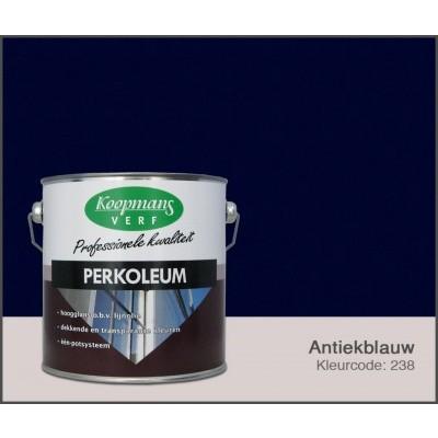 Hoofdafbeelding van Koopmans Perkoleum, Antiekblauw 238, 2,5L hoogglans