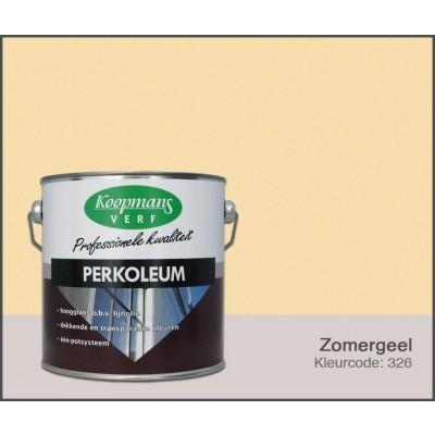 Foto van Koopmans Perkoleum, Zomergeel 326, 2,5L Hoogglans
