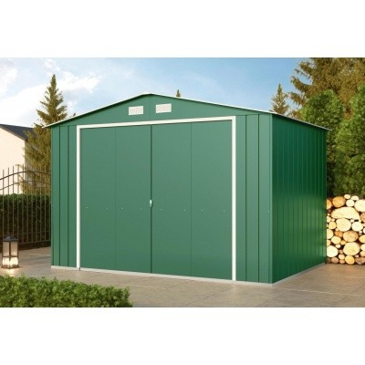 Hoofdafbeelding van Duramax ECO Metalen Tuinhuis 8x6, Groen