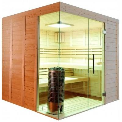 Hoofdafbeelding van Azalp Sauna Luja 190x190 cm, 45 mm