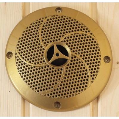 Foto van Hot Orange Sauna speaker tot 120 °C Goud