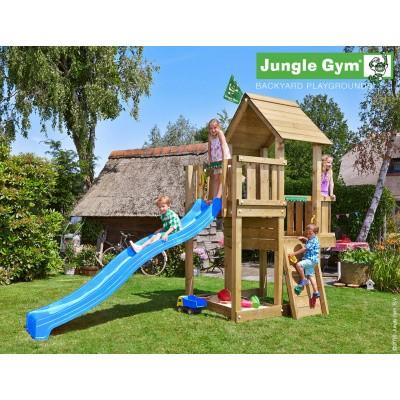 Foto van Jungle Gym Cubby met Glijbaan
