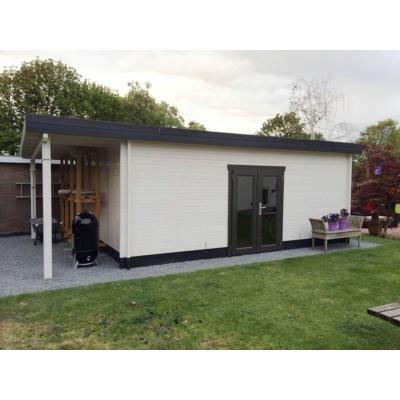 Hauptbild von Azalp Blockhaus Sven 500x450 cm, 45 mm