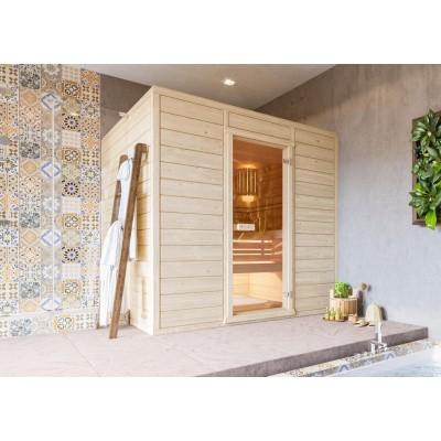 Hoofdafbeelding van Azalp Massieve sauna Eva 230x180 cm, 45 mm