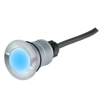 Foto van SLV POWER TRAIL-LITE ROUND edelstaal 316 1W LED blauw, 228337