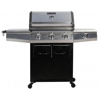 Foto van Master Cook 3+1 Brander Gasbarbecue en Grill Luxe