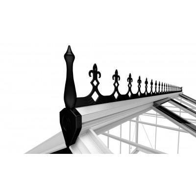 Hoofdafbeelding van Royal Well Victoriaanse Nok Birdlip 84 en Burford 86, zwart