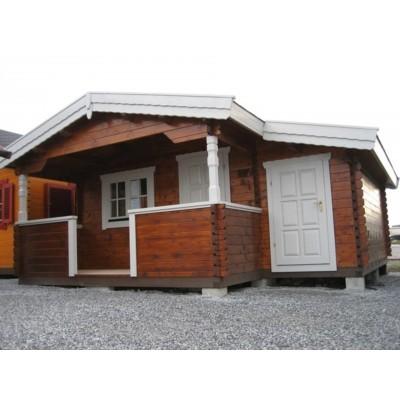 Hauptbild von Azalp Blockhäuser Nida-TA 3,5x3,5 m, 45 mm