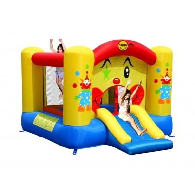 Foto van Happy Hop Clown Slide en Hoop Bouncer