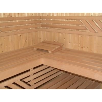 Hauptbild von Azalp Saunabank gerade, Erle 50 cm breit