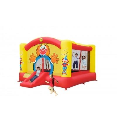 Foto van Happy Hop Super Clown Slide Bouncer