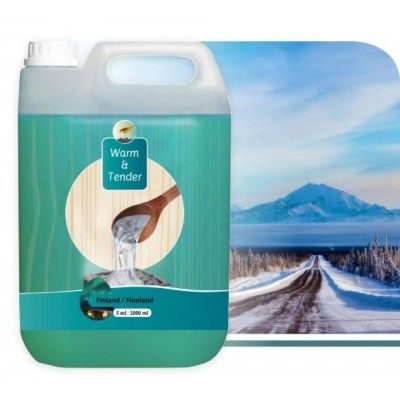 Foto van Warm and Tender Concentraat Finland Fris 5000 ml