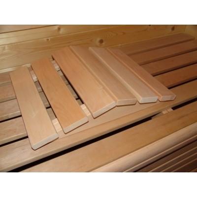 Hoofdafbeelding van Azalp Sauna Beenondersteuning elzen