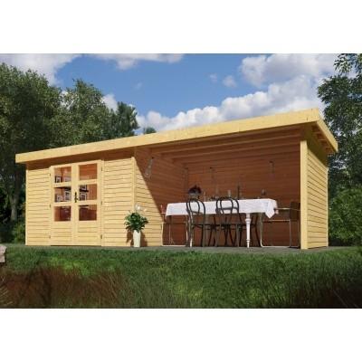 Hoofdafbeelding van Woodfeeling Askola 4 met veranda (77734)