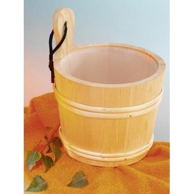 Foto van Hot Orange Emmer 2 liter vuren voor sauna ACTIE