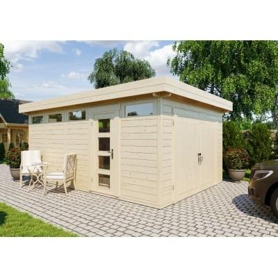 Garage modern holz  Holz garage