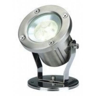 Foto van SLV NAUTILUS LED 304B edelstaal geborsteld 3x1W ww, 230802