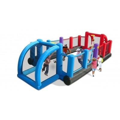 Foto van Happy Hop Inflatable Soccer Field
