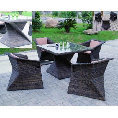 Foto van Azalp Dining set Wicker 2