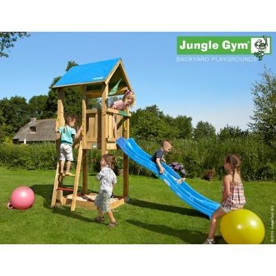 Foto van Jungle Gym Castle met Glijbaan