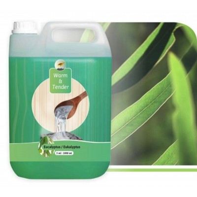 Foto van Warm and Tender Concentraat Eucalyptus 5000 ml